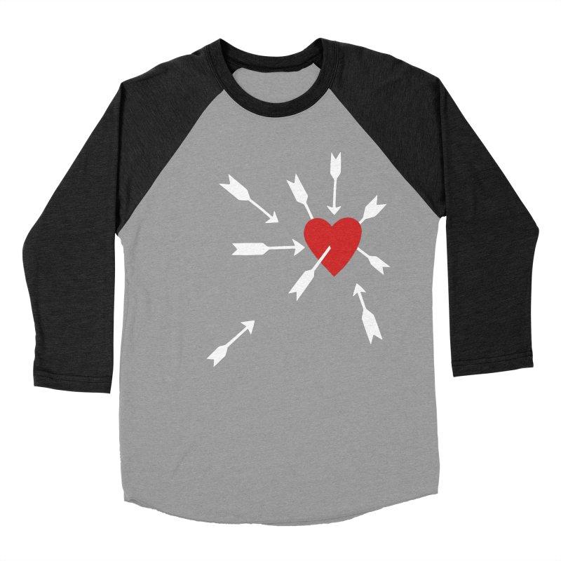 Carefree Women's Baseball Triblend Longsleeve T-Shirt by Kate Gabrielle's Artist Shop