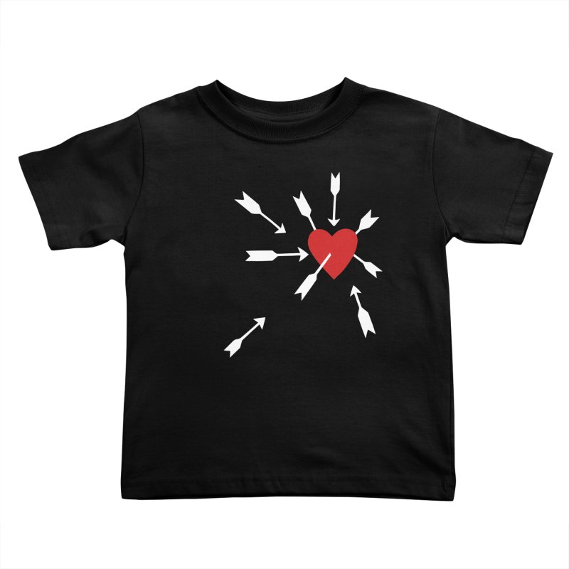 Carefree Kids Toddler T-Shirt by Kate Gabrielle's Artist Shop