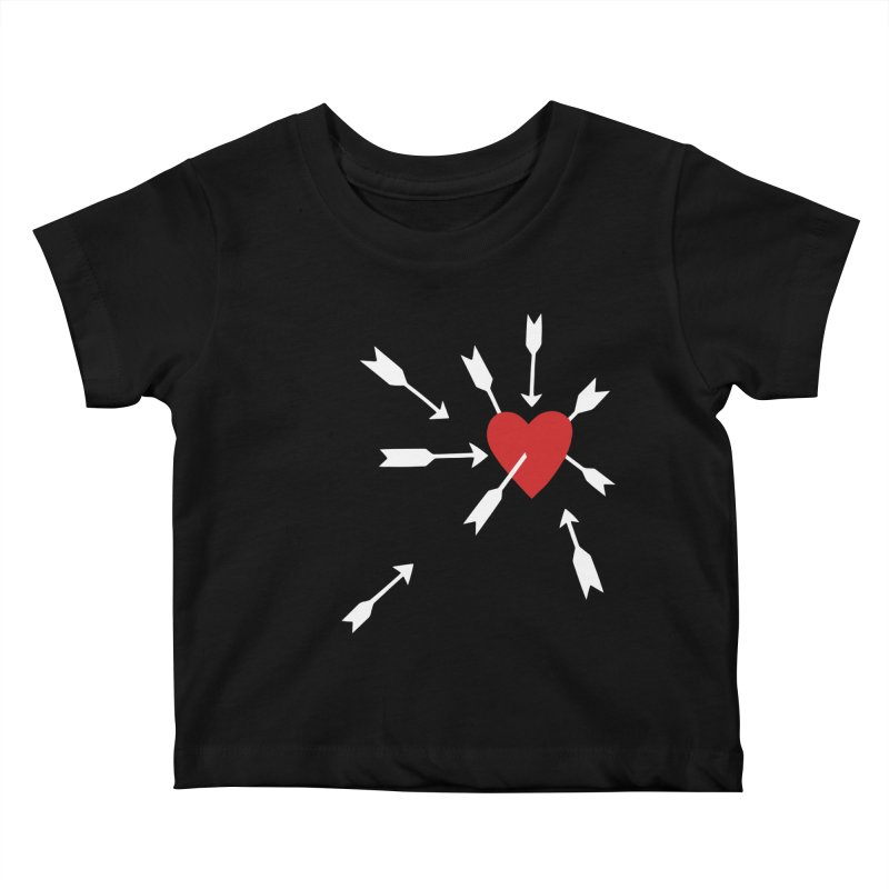Carefree Kids Baby T-Shirt by Kate Gabrielle's Artist Shop