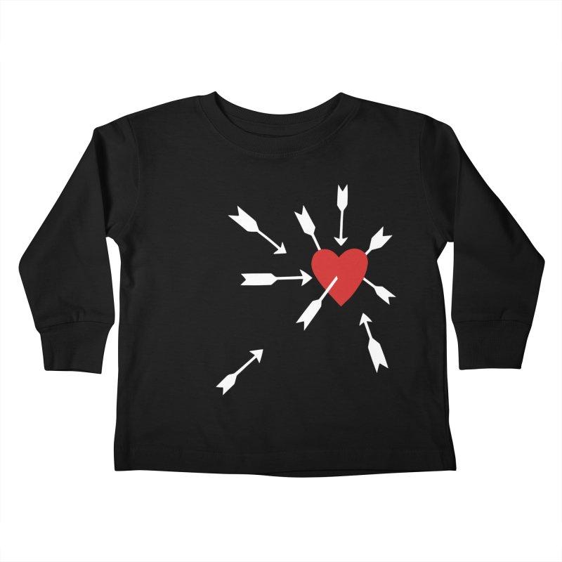 Carefree Kids Toddler Longsleeve T-Shirt by Kate Gabrielle's Artist Shop