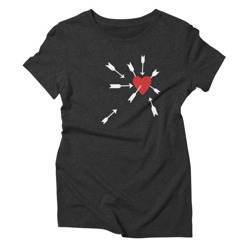Carefree Women's Triblend T-Shirt by Kate Gabrielle's Artist Shop