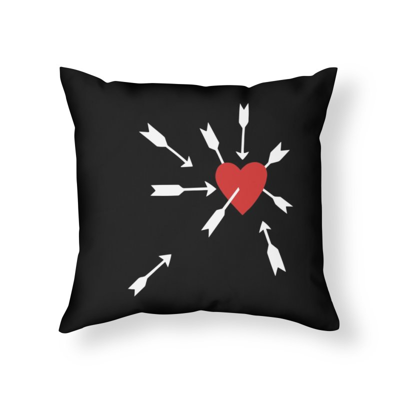 Carefree Home Throw Pillow by Kate Gabrielle's Artist Shop
