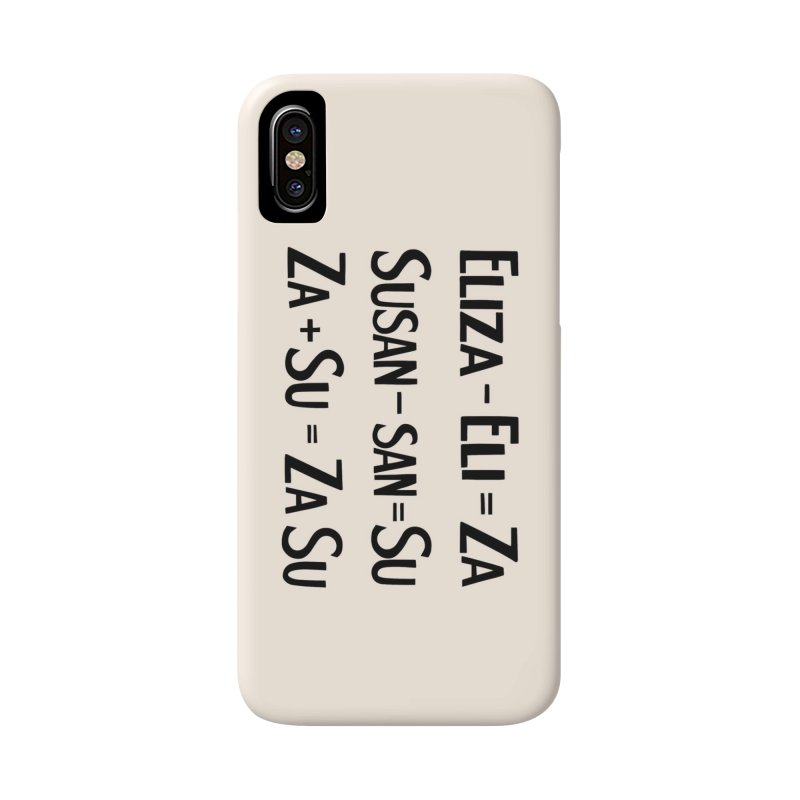 ZaSu Pitts Accessories Phone Case by Kate Gabrielle's Artist Shop