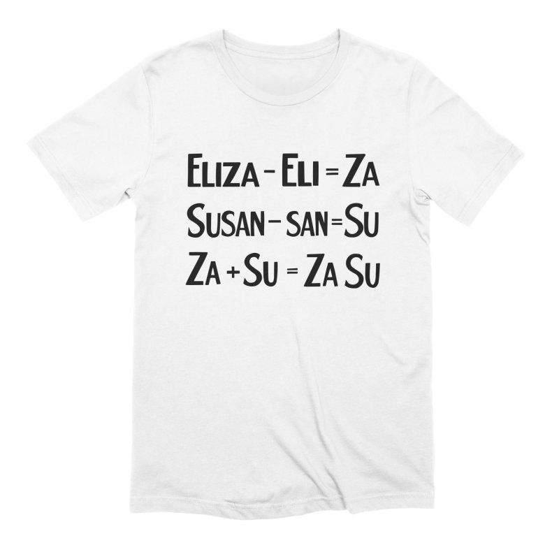 ZaSu Pitts Men's Extra Soft T-Shirt by Kate Gabrielle's Artist Shop