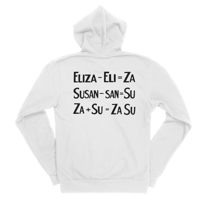 ZaSu Pitts Men's Sponge Fleece Zip-Up Hoody by Kate Gabrielle's Artist Shop