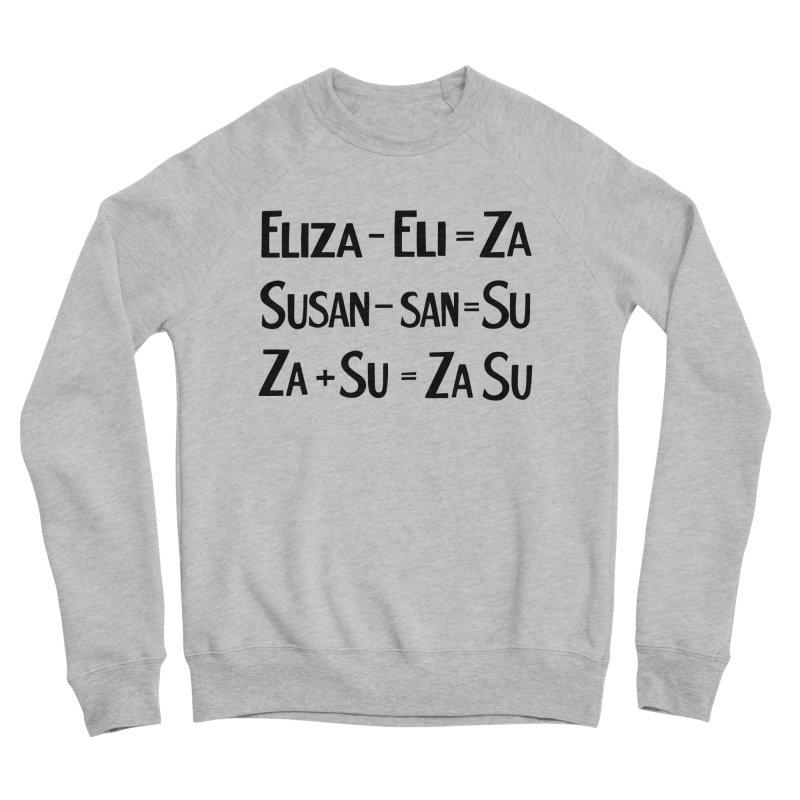 ZaSu Pitts Men's Sponge Fleece Sweatshirt by Kate Gabrielle's Artist Shop
