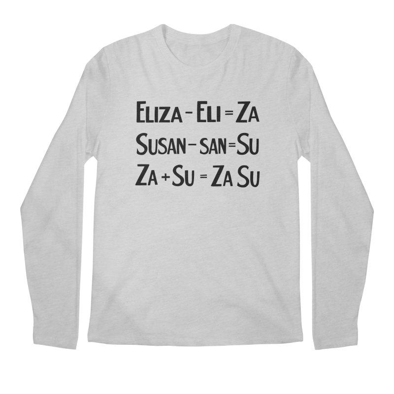 ZaSu Pitts Men's Regular Longsleeve T-Shirt by Kate Gabrielle's Artist Shop