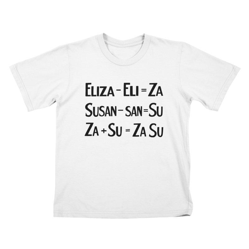 ZaSu Pitts Kids T-Shirt by Kate Gabrielle's Artist Shop