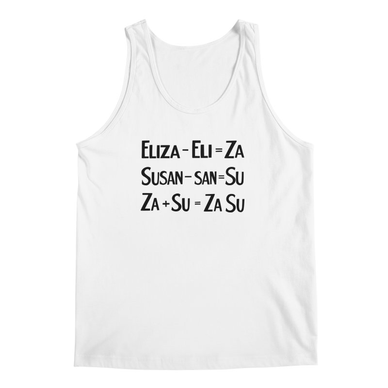ZaSu Pitts Men's Regular Tank by Kate Gabrielle's Artist Shop