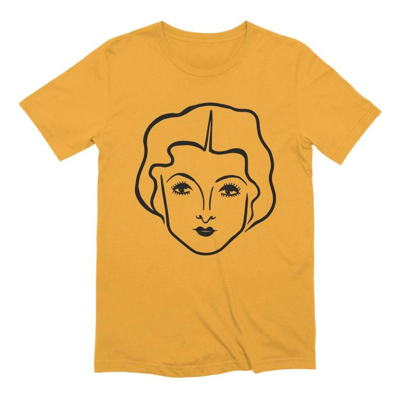 Myrna Men's Extra Soft T-Shirt by Kate Gabrielle's Artist Shop