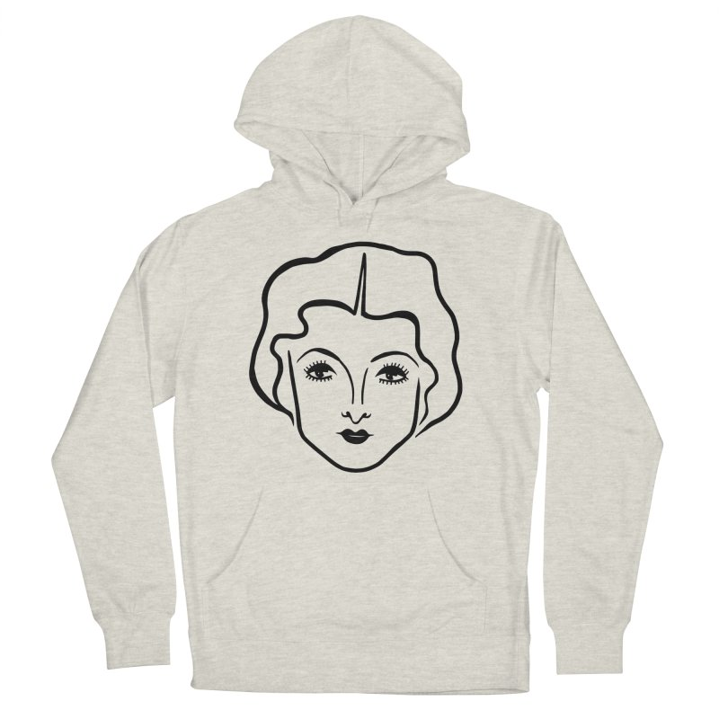 Myrna Men's French Terry Pullover Hoody by Kate Gabrielle's Artist Shop