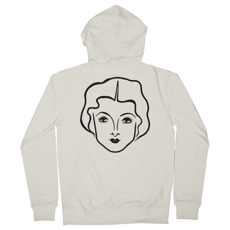 Myrna Women's French Terry Zip-Up Hoody by Kate Gabrielle's Artist Shop