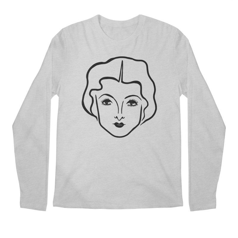 Myrna Men's Regular Longsleeve T-Shirt by Kate Gabrielle's Artist Shop