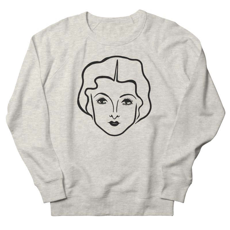 Myrna Men's French Terry Sweatshirt by Kate Gabrielle's Artist Shop