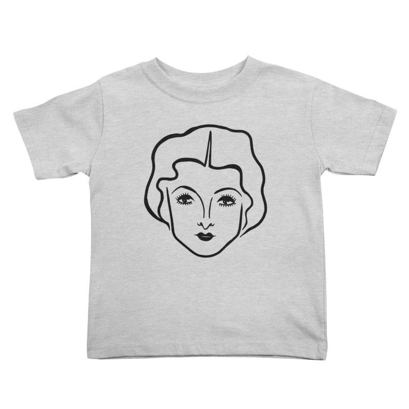 Myrna Kids Toddler T-Shirt by Kate Gabrielle's Artist Shop