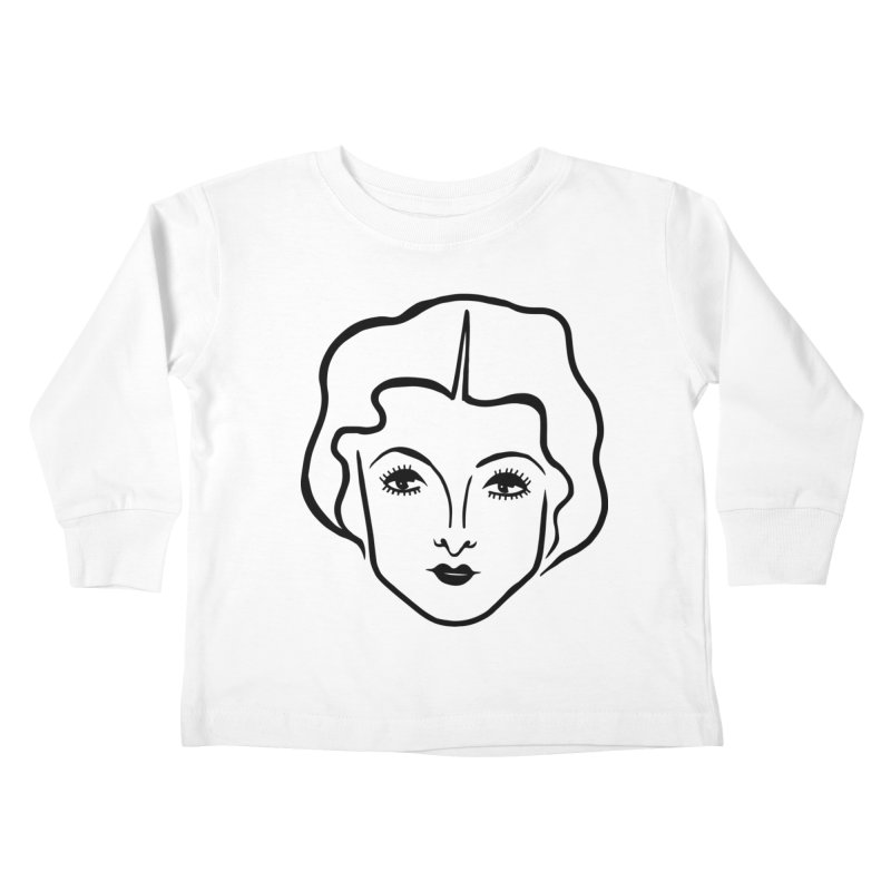 Myrna Kids Toddler Longsleeve T-Shirt by Kate Gabrielle's Artist Shop