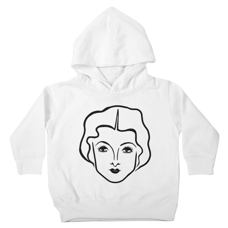 Myrna Kids Toddler Pullover Hoody by Kate Gabrielle's Artist Shop