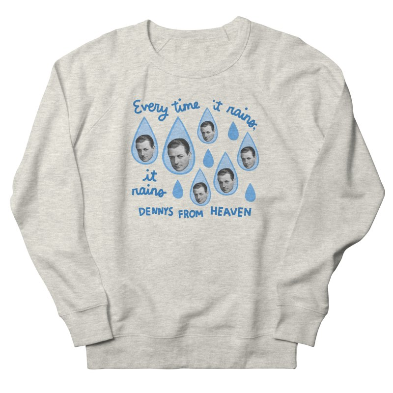 Dennys from heaven Women's French Terry Sweatshirt by Kate Gabrielle's Artist Shop