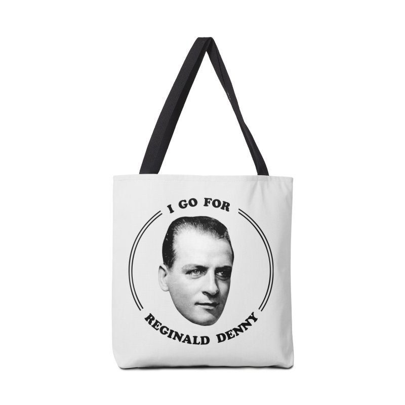 I go for Reginald Denny Accessories Bag by Kate Gabrielle's Artist Shop