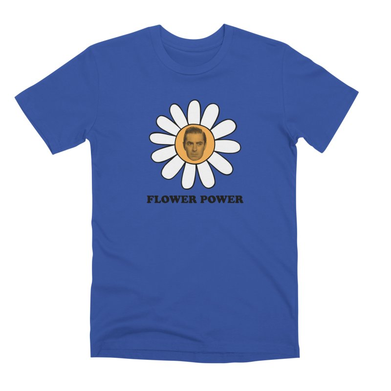 Flower Power Men's Premium T-Shirt by Kate Gabrielle's Artist Shop