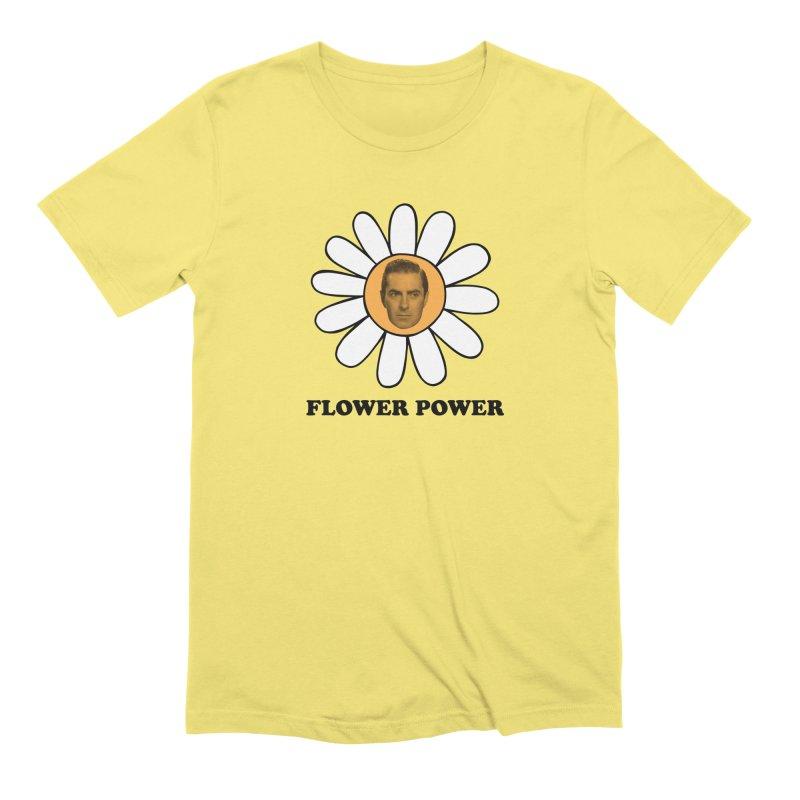 Flower Power Men's Extra Soft T-Shirt by Kate Gabrielle's Artist Shop