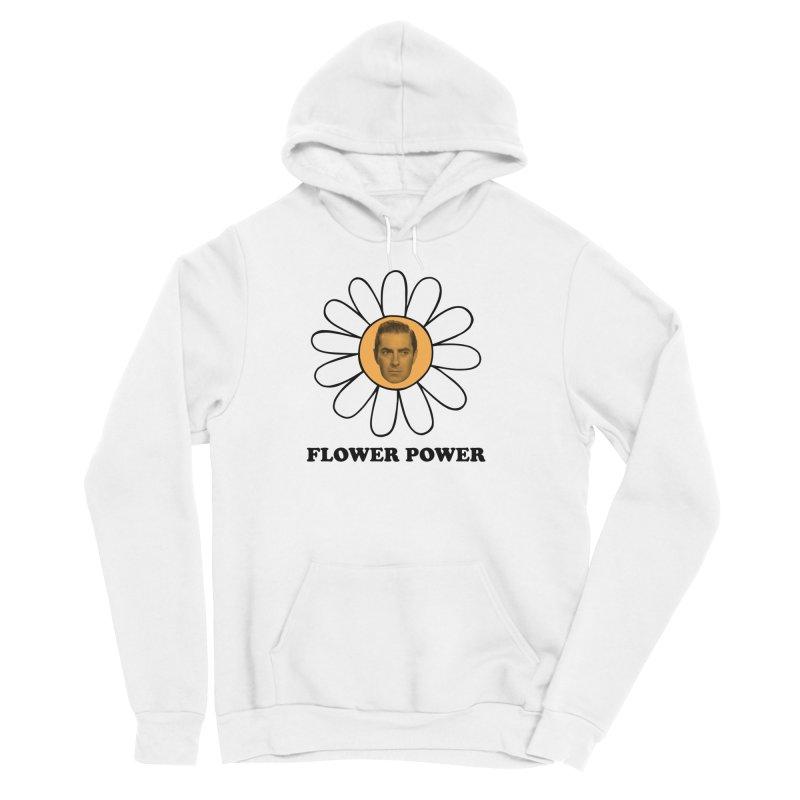 Flower Power Women's Sponge Fleece Pullover Hoody by Kate Gabrielle's Artist Shop