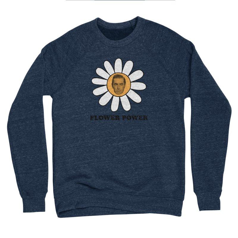 Flower Power Men's Sponge Fleece Sweatshirt by Kate Gabrielle's Artist Shop