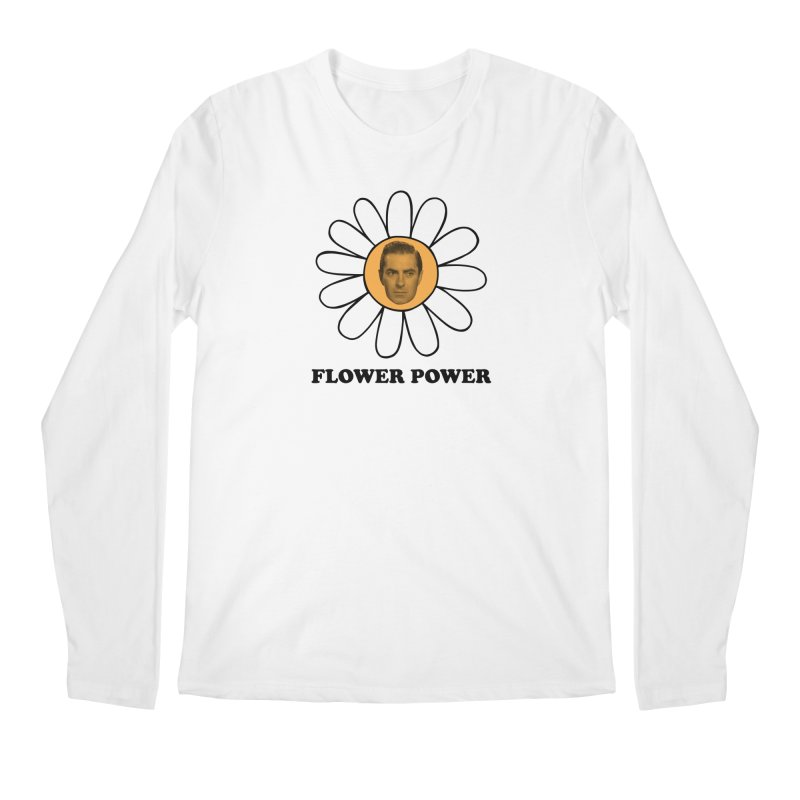 Flower Power Men's Regular Longsleeve T-Shirt by Kate Gabrielle's Artist Shop
