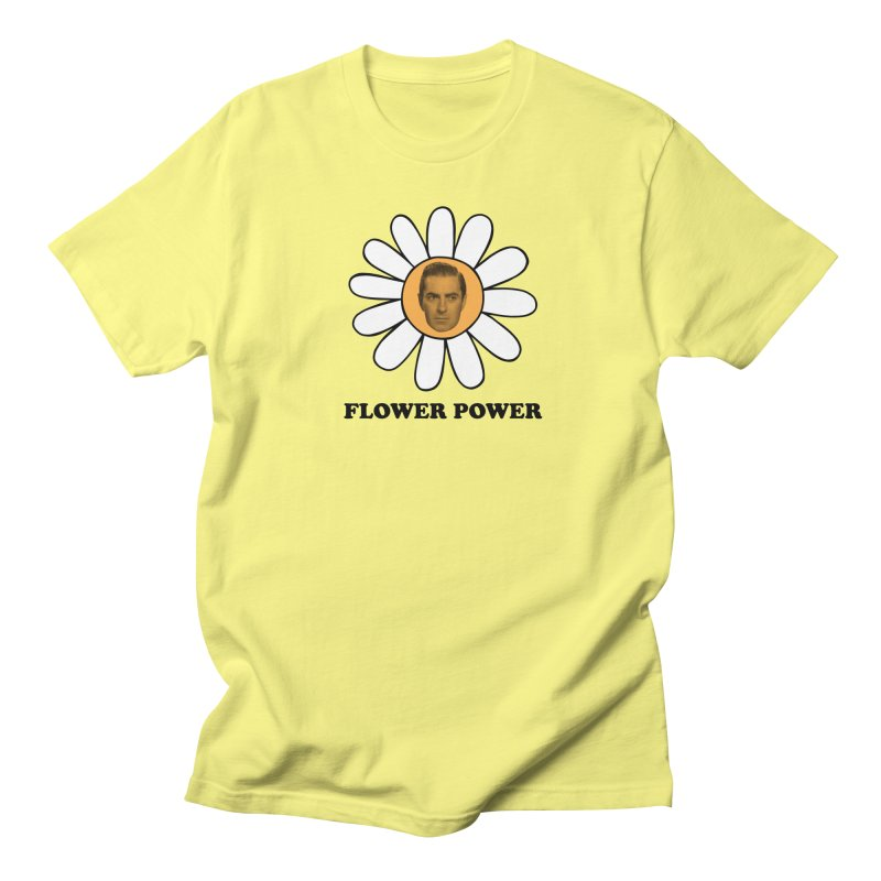 Flower Power Women's Regular Unisex T-Shirt by Kate Gabrielle's Artist Shop