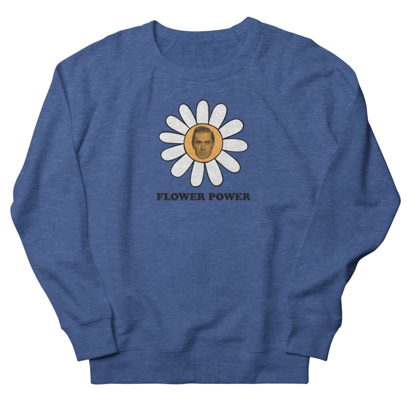 Flower Power Women's French Terry Sweatshirt by Kate Gabrielle's Artist Shop