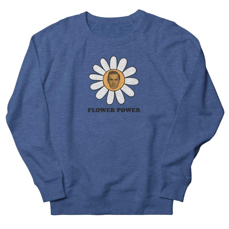 Flower Power Men's French Terry Sweatshirt by Kate Gabrielle's Artist Shop
