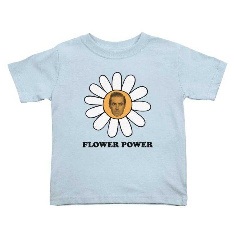 Flower Power Kids Toddler T-Shirt by Kate Gabrielle's Artist Shop