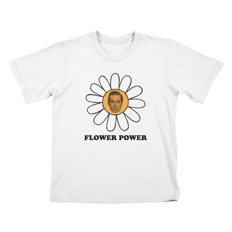 Flower Power Kids T-Shirt by Kate Gabrielle's Artist Shop