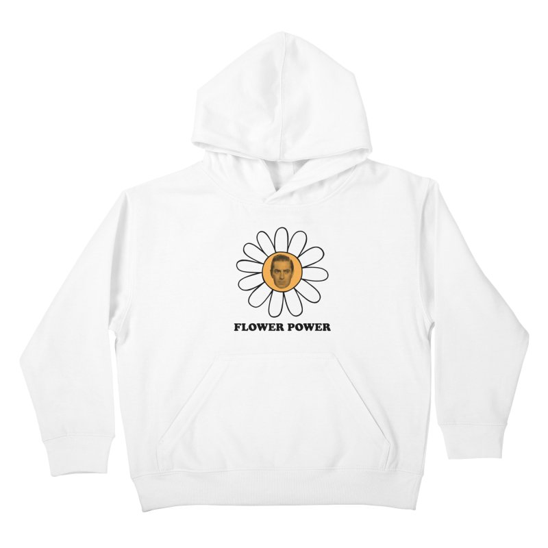 Flower Power Kids Pullover Hoody by Kate Gabrielle's Artist Shop