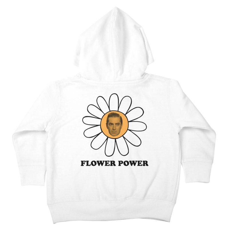 Flower Power Kids Toddler Zip-Up Hoody by Kate Gabrielle's Artist Shop