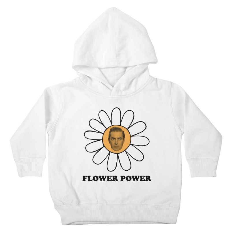 Flower Power Kids Toddler Pullover Hoody by Kate Gabrielle's Artist Shop