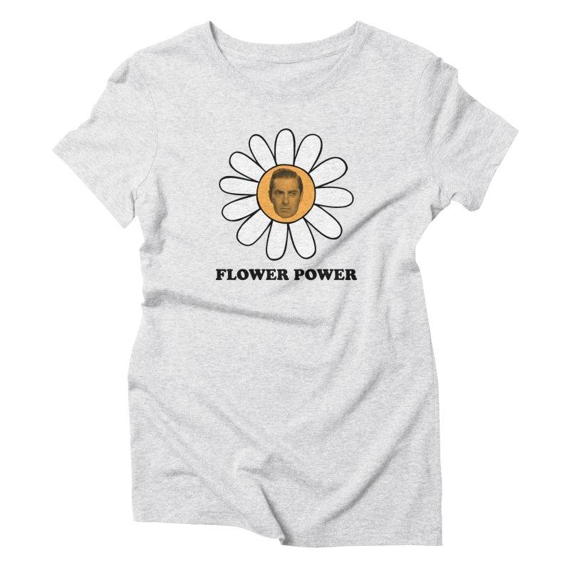 Flower Power Women's Triblend T-Shirt by Kate Gabrielle's Artist Shop