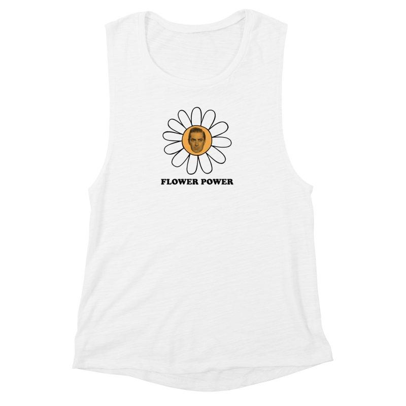 Flower Power Women's Muscle Tank by Kate Gabrielle's Artist Shop