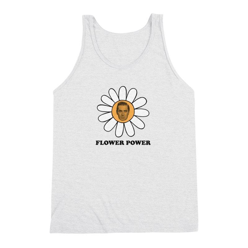 Flower Power Men's Triblend Tank by Kate Gabrielle's Artist Shop