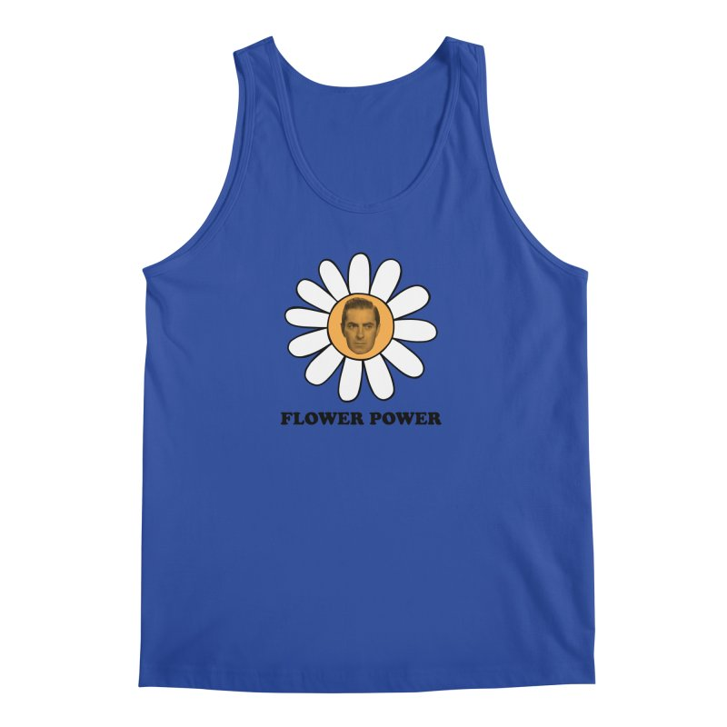 Flower Power Men's Regular Tank by Kate Gabrielle's Artist Shop