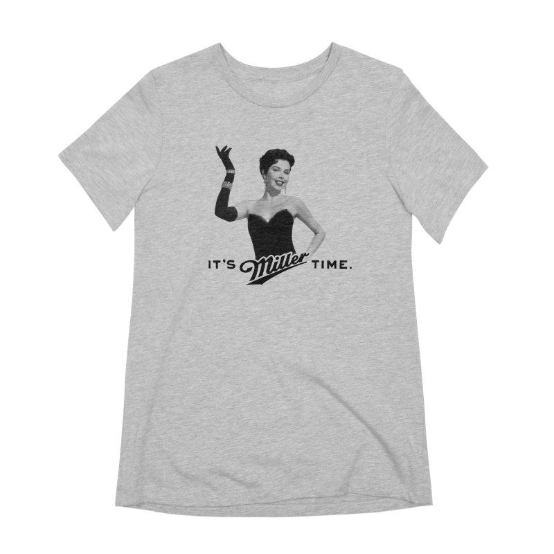 Ann Miller Time Women's Extra Soft T-Shirt by Kate Gabrielle's Artist Shop