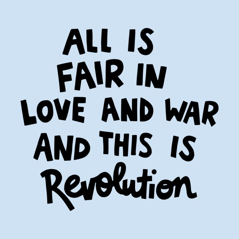 All is fair in love and war Women's Zip-Up Hoody by Kate Gabrielle's Artist Shop