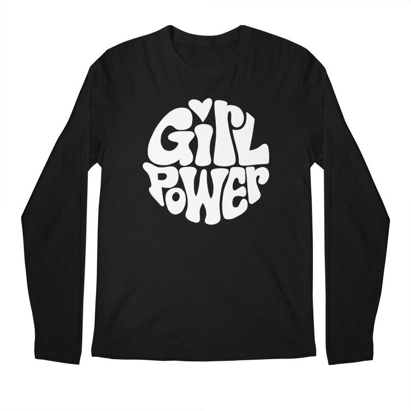 Girl Power Men's Regular Longsleeve T-Shirt by Kate Gabrielle's Artist Shop