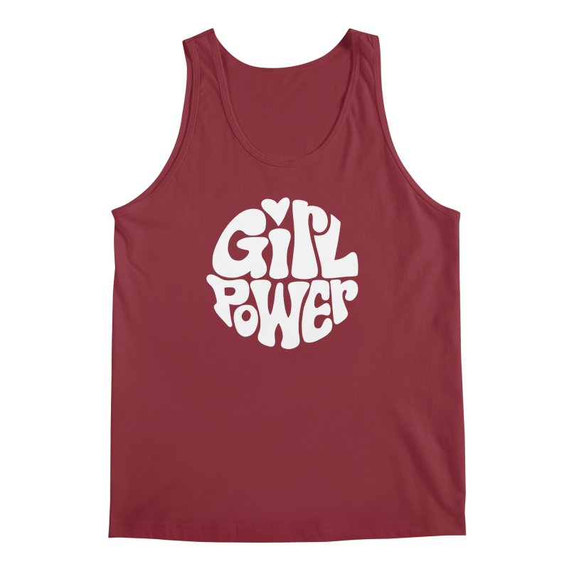 Girl Power Men's Regular Tank by Kate Gabrielle's Artist Shop
