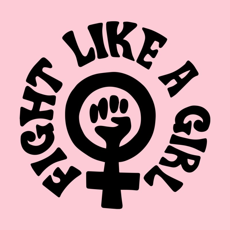 Fight like a girl Women's Longsleeve T-Shirt by Kate Gabrielle's Artist Shop