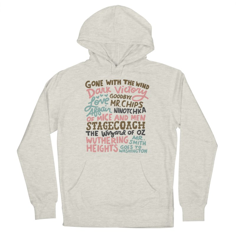 1939 Women's French Terry Pullover Hoody by Kate Gabrielle's Artist Shop