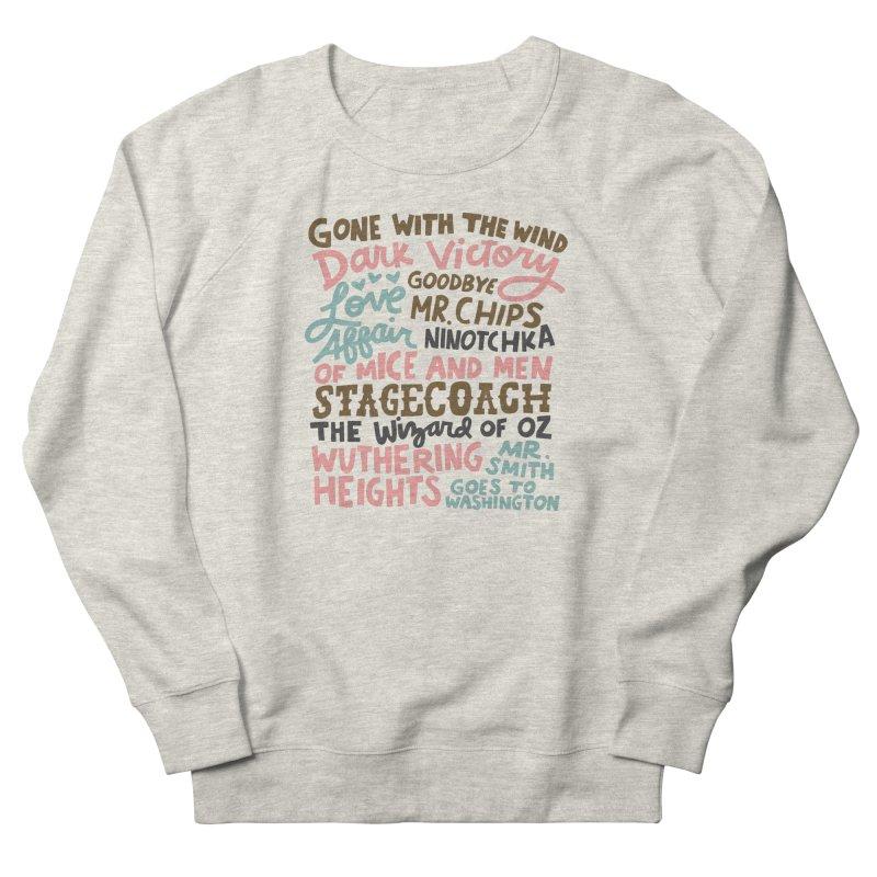 1939 Women's French Terry Sweatshirt by Kate Gabrielle's Artist Shop