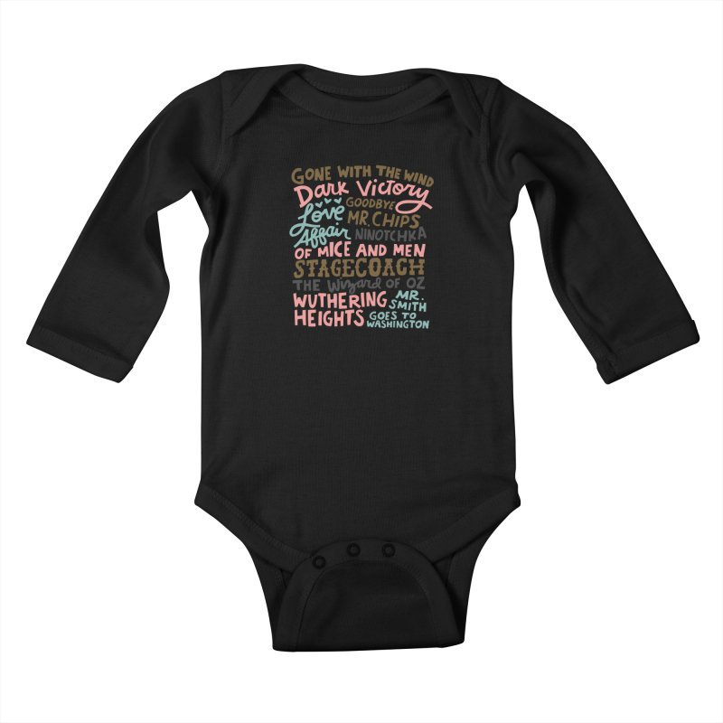 1939 Kids Baby Longsleeve Bodysuit by Kate Gabrielle's Artist Shop