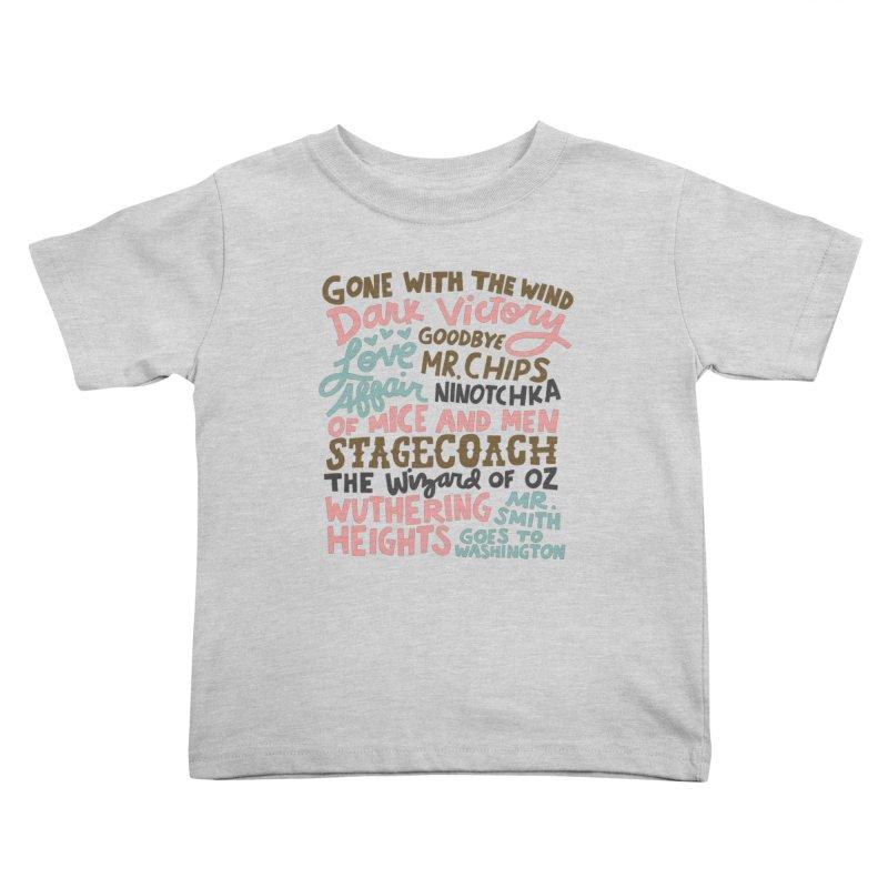 1939 Kids Toddler T-Shirt by Kate Gabrielle's Artist Shop