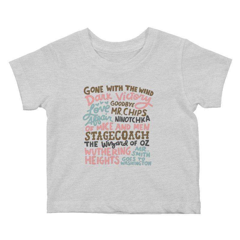 1939 Kids Baby T-Shirt by Kate Gabrielle's Artist Shop
